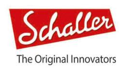 logotipo de schaller del cual el amir es endorser