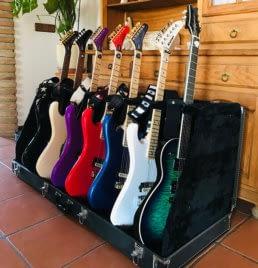 guitarras de el amir colección kramer