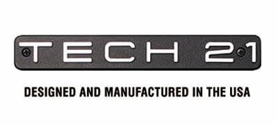logotipo de tech 21 del que el amir es endorser