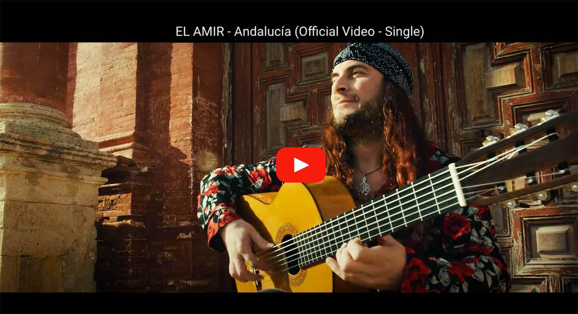 El Amir presenta el nuevo single Andalucia