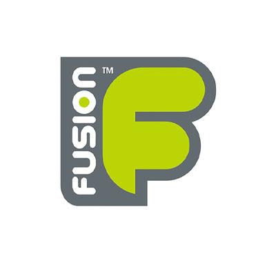 logotipo de fusion bags del cual el amir es endorser