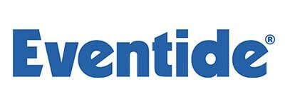 logotipo de eventide del que el amir es endorser