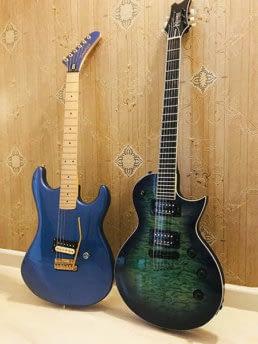 guitarras kramer de el amir modelos baretta y assault